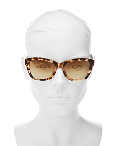 Longchamp - Women's Heritage Square Sunglasses, 53mm