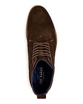 cad5c8325 ... Ted Baker - Men s Shennjo Suede Brogue Wingtip Boots. Quick View