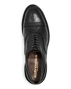 Allen Edmonds - Men's Strandmok Brogue Leather Cap-Toe Oxfords