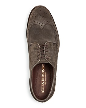 Allen Edmonds - Men's Nomad Suede Brogue Wingtip Oxfords