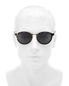 Le Specs - Men's Paradox Polarized Round Sunglasses, 49mm
