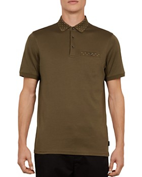 Ted Baker - Critter Flat Knit Regular Fit Polo Shirt