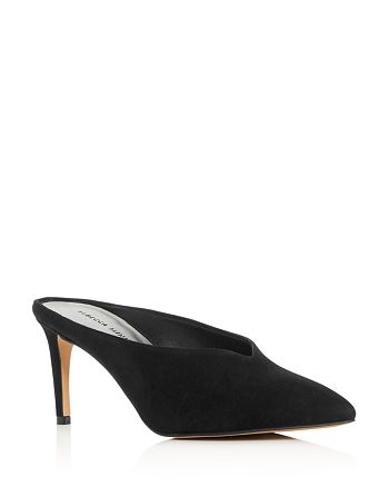 Rebecca Minkoff - Women's Graciano Pointed Toe High-Heel Mules
