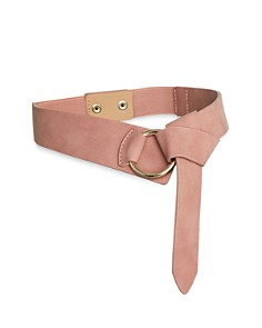 BCBGeneration - Faux Suede Tie Detail Belt