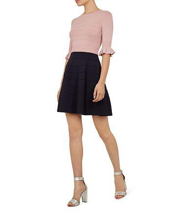 Ted Baker - Dyana Color-Block Knit Dress