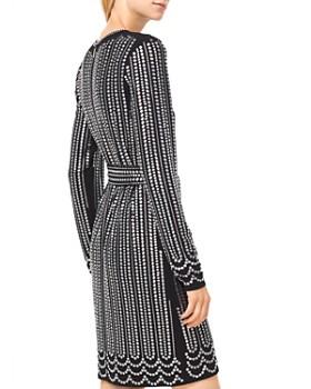 MICHAEL Michael Kors - Studded Matte-Jersey Dress