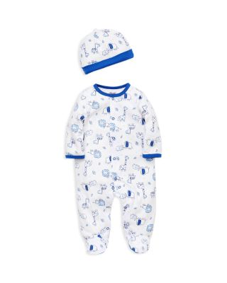 Little Me baby-boys Baby Footie and Hat