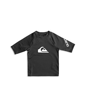 Quiksilver - Boys' All Time Short Sleeve UPF 50+ Rash Guard Top - Little Kid