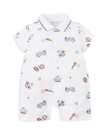 Kissy Kissy - Boys' Short Collared Romper - Baby