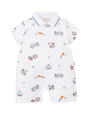 Kissy Kissy Boys Short Collared Romper  Baby