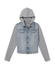 DL1961 - Boys' Manning Mixed-Media Hooded Jacket - Big Kid