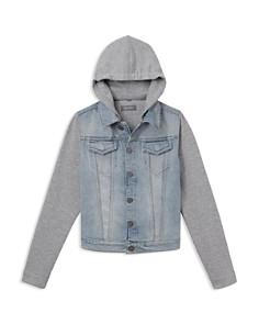DL1961 - Boys' Manning Mixed-Media Hooded Jacket - Big Kid