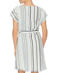 Splendid - Line of Sight Wrap Dress Swim Cover-Up