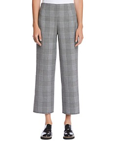 Bailey 44 - Head Over Heels Plaid Cropped Wide-Leg Pants