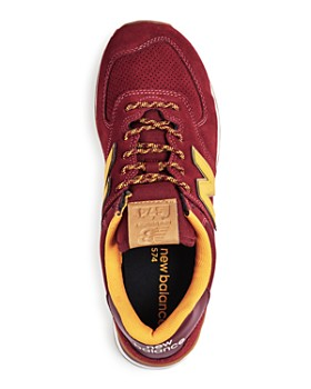 New Balance - Men's Trail Pack Suede Low-Top Sneakers