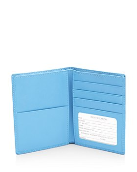 ROYCE New York - Leather RFID-Blocking Passport Case & Wallet