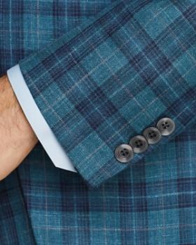 Jack Victor - Plaid Wool Regular Fit Sport Coat
