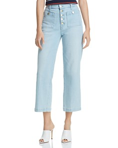 J Brand - Joan Crop Wide-Leg Jeans in Elara