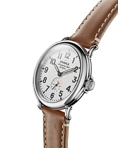 Shinola - The Runwell Tan Leather Strap Watch, 41mm