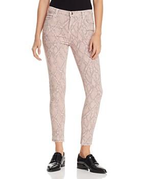 d0fc6660427 J Brand - Alana Crop Skinny Printed Jeans in Adder ...