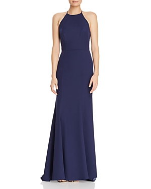 Jarlo CARLIN LACE-BACK GOWN