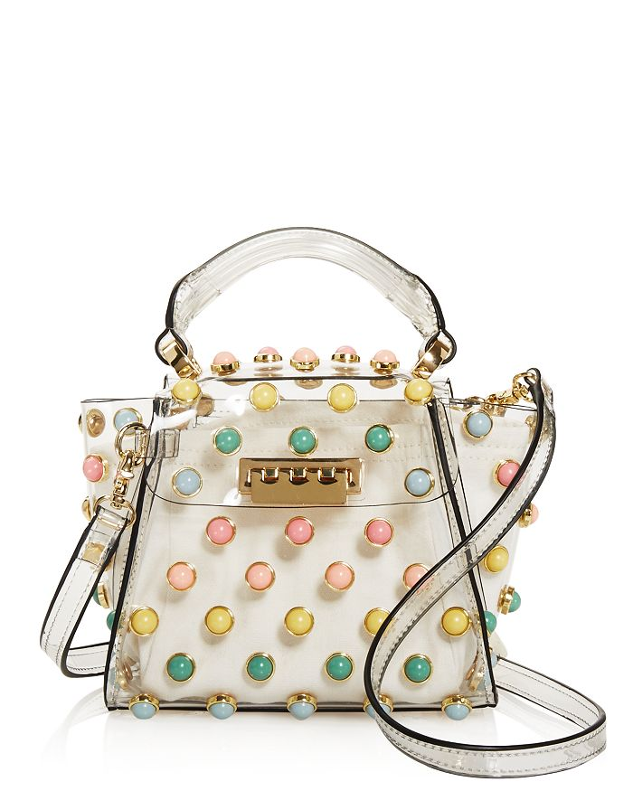 ZAC Zac Posen - Eartha Mini Rainbow Faux Pearl Crossbody