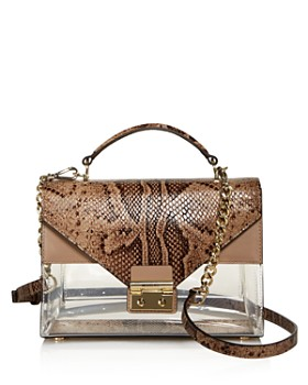 MICHAEL Michael Kors - Sloan Clear Satchel - 100% Exclusive