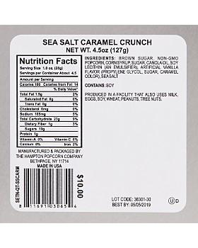 The Hampton Popcorn Company - Sea Salt Caramel Crunch Popcorn