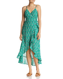 The Fifth Label - Adventurer Printed Midi Wrap Dress