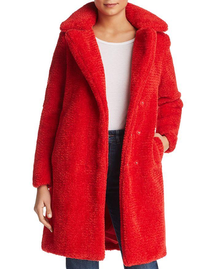 Vero Moda - Lala Faux-Fur Teddy Coat