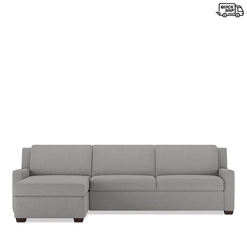 American Leather - Lex 2-Piece Left Arm Sitting Sleeper Sofa - 100% Exclusive