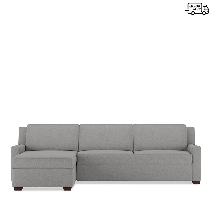 American Leather - Lex 2-Piece Left Arm Sitting Sleeper Sofa - 100% Exclusive