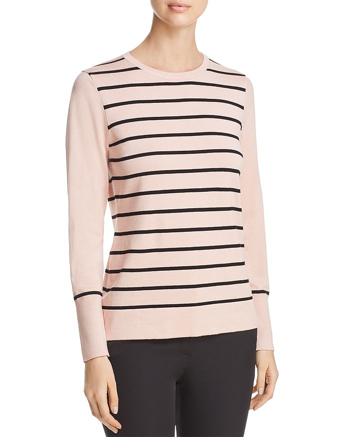 KARL LAGERFELD Paris - Striped Button-Cuff Sweater