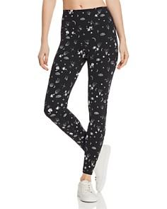 Spiritual Gangster - Perfect High-Rise Celestial Print Leggings