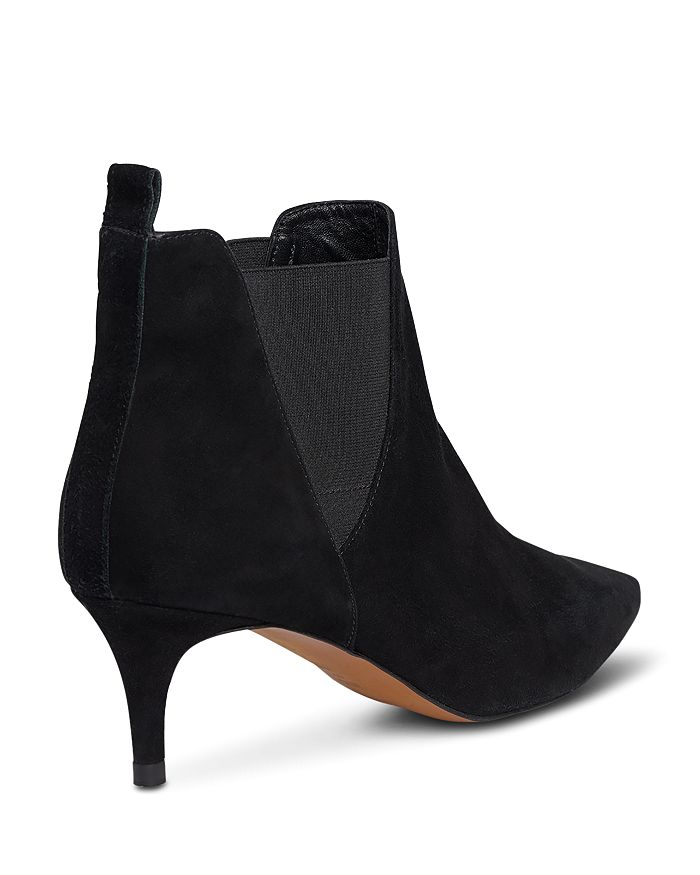 dda7d6593e4c Whistles - Women s Orley Suede Kitten Heel Booties