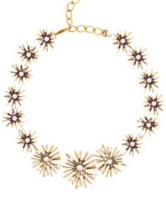 "Oscar de la Renta - Classic Starburst Necklace, 16"""