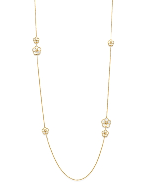 Roberto Coin 18K Yellow Gold Daisy Mother-of-Pearl & Diamond Station Necklace, 31 - 100% Exclusive