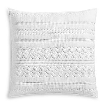 Sky - Soft Crinkle Quilted Euro Sham, Pair - 100% Exclusive