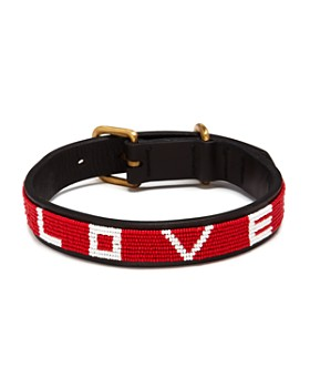 """Love Is Project - Adjustable Pet Collar, 15""""-18"""""""