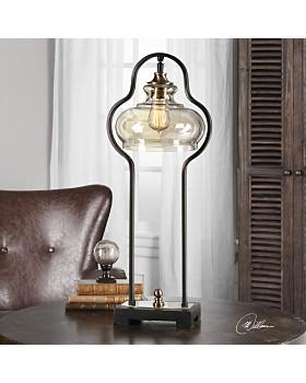 Uttermost - Cotulla Aged Black Desk Lamp