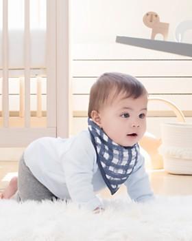 Aden and Anais - Boys' Waverly Plaid Bandana Bib - Baby