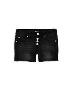 Hudson - Girls' Luna Denim Shorts in Black - Big Kid