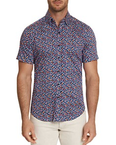 Robert Graham - Roark Short-Sleeve Floral-Print Classic Fit Shirt