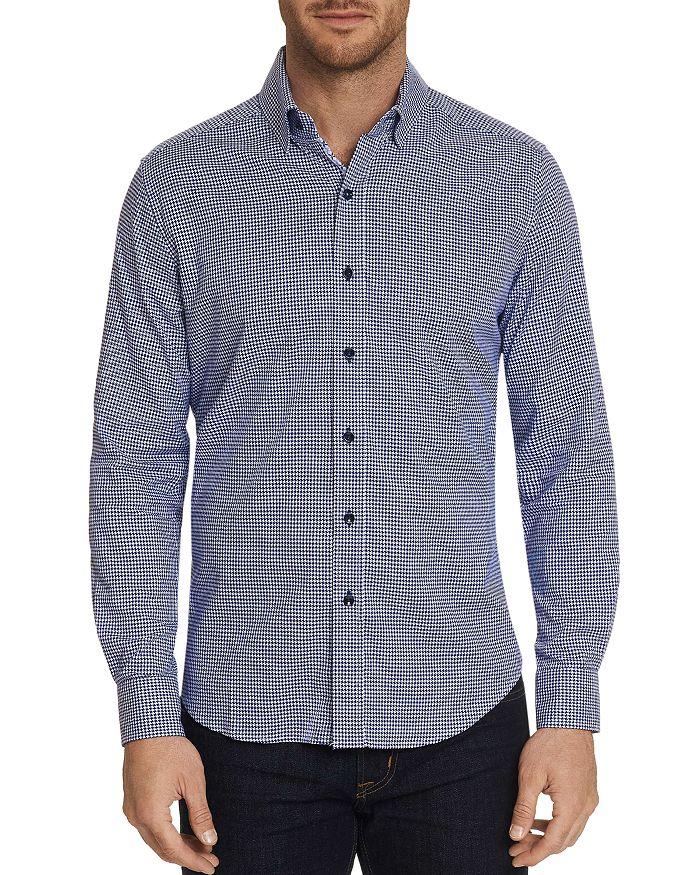 Robert Graham - Alabaster Houndstooth-Print Classic Fit Shirt