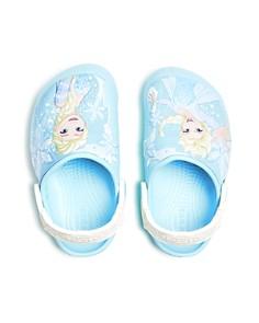 Crocs - Disney© Girls' Frozen Elsa Clogs - Walker, Toddler, Little Kid