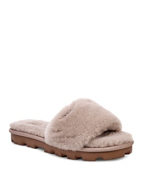 03a07e4be924e6 UGG® - Women s Cozette Fur Slide Sandals ...