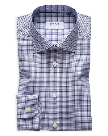 Eton - Multi-Check Regular Fit Dress Shirt