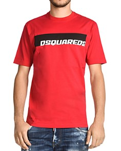 DSQUARED2 - Color-Block Logo Graphic Tee