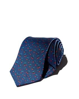 Drake's - Tossed Cherries Silk Classic Tie