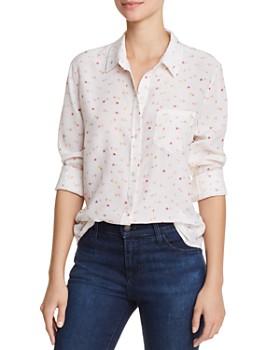 32fc92e6a Rails - Kate Printed Silk Shirt ...